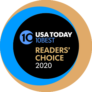 USA Today 10 Best - Readers' choice 2020 award